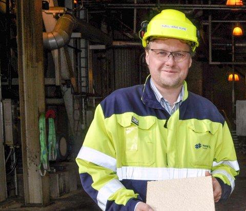 HAR FÅTT NYE EIERE: Saugbrugs-direktør Kjell-Arve Kure.