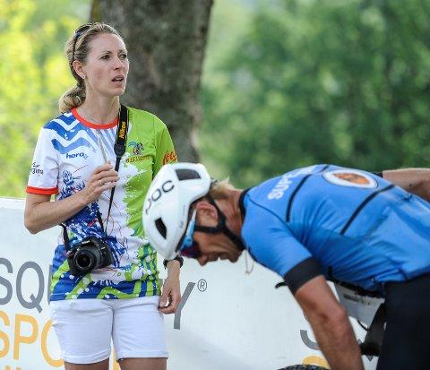 DAGLIG LEDER: Caroline Idebøen Koren planlegger for Grenserittet 2020 som normalt, men innser at det er en viss fare for at sykkelfesten blir avlyst.