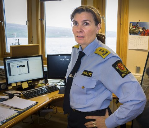 MENER DET ER TILSTREKKELIG: Politimester Ellen Katrine Hætta mener at kontroller i regi av Finnmark politidistrikt med motorisert ferdsel i utmark er tilstrekkelig ivaretatt gjennom Reinpolitiet.