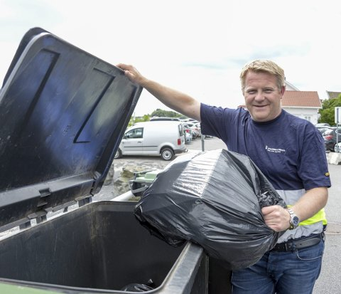 BEREDSKAP: Stefan Baugstø forsikrer at Kragerø kommune har plan for søppelhåndtering hvis RenoNorden må gi opp.