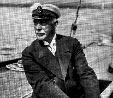 Ambortius Olsen var medlem i NKS og han var en ivrig seiler.