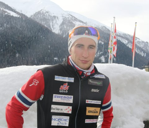 SPENNENDE TIDER: I morgen starter Råde-gutten Jørgen Lippert junior-VM i langrenn med sprinten i fristil.  FOTO: ERIK BORG
