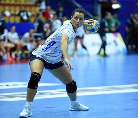 AVGJORDE: Nora Mørk hadde langt fra sin beste dag, men var strålende med assist og scoringer mot slutten.