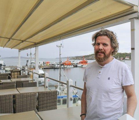 ERFAREN DRIVER: Olof Eriksson har tidligere drevet 8 glass på Tjøme og tilbringer vintrene på Hemsedal, hvor han driver O'Learys.