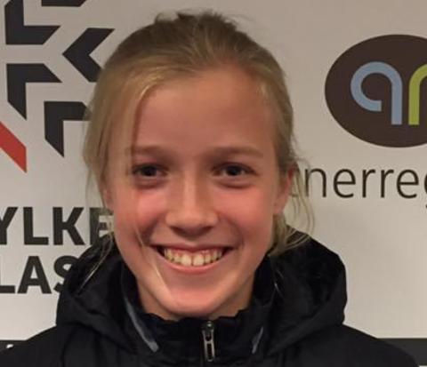 TO MÅL: Maria Fjelde Sel sørget med sine to mål for at samarbeidslaget fra Tau og Jørpeland ligger øverst på tabellen.