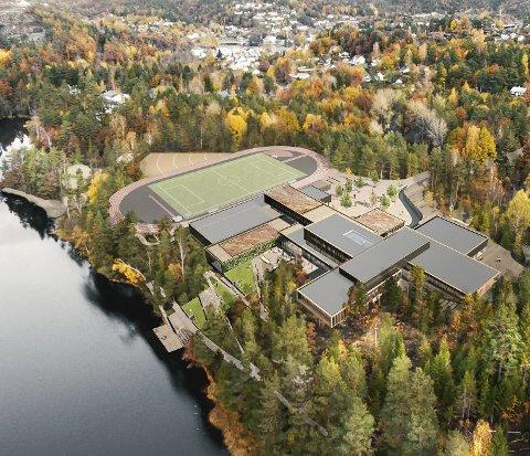 Fylkesrådmannen og rådmannen i Tvedestrand foreslår «Tvedestrand videregående skole» og «Tvedestrand Idrettspark» som navn på det flotte skoleanlegget ved Mjåvann.