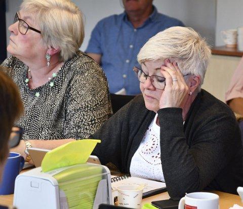 May-Britt Lunde: Mente kommunen ikke hadde stort å tape på å gi et flattt tillegg på 40.000 kroner. Foto: Olav Loftesnes