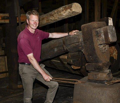 Hammer-prosjekt: Museumsdirektør Knut Aall fikk tirsdag innvilget halvparten av det omsøkte beløpet på 100.000 kroner. Arkivfoto
