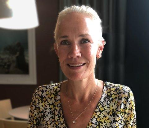 Satser: Hilde Cathrine Bertelsen er en av de fire bak butikkjøpet på Sandøya, og hun blir sannsynligvis den nye driveren. Privat foto