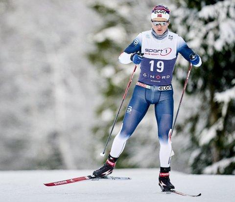 – Det er ikke så lett å gjøre noe underveis i sesongen. Jeg får nok ta det litt med ro og tenke meg om hva jeg skal gjøre frem mot de neste norgescuprennene, sier Vebjørn Turtveit etter et skuffende NM.
