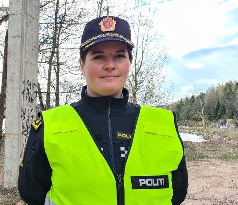 FOKUS PÅ FART: Utrykningspolitiet (UP) vil framover har høyt fokus på å få stoppet dem som kjører for fort, forteller distriktsleder i UP Sør, Karin Walin.