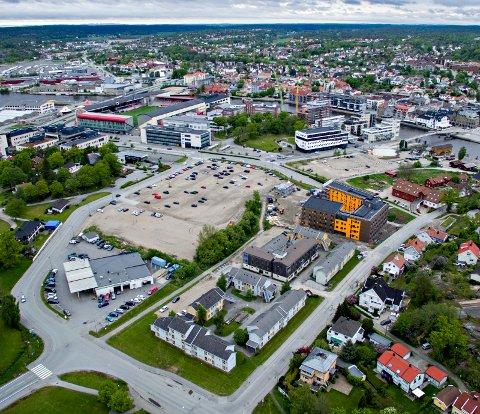 Boligprisene blir stadig høyere i Fredrikstad. Her fra Bjølstad på Kråkerøy, hvor Værste skal bygge 250 nye boliger de neste årene.