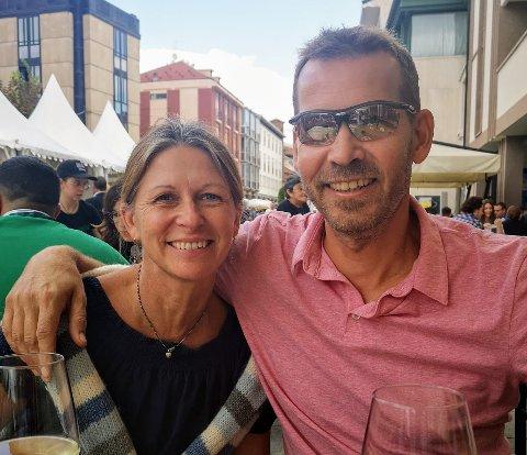 NYTT LIV: Anja og Jan Freberg har startet et nytt liv i Italia. - Vi har det kjempebra.