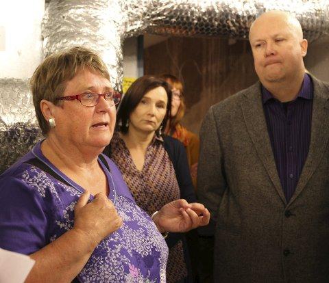 SER EN ENDE: Siden 1995 har Reidun Laura Andreassen, som selv er kven, jobbet for et nasjonalt kvenmuseum til Vadsø gjennom sin rolle hos fylkeskommunen. Til neste år blir hun pensjonist, og før den tid håper hun at saken har fått en positiv ende.
