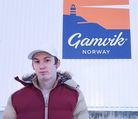 IKKE OPTIMIST: Permitterte Patrick Hansen håper den vanskelige råstoffsituasjonen for Finnmark Fisk i Mehamn løser seg, men han er ikke optimist lenger.