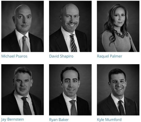 TOPPENE: Dette er noen av partnerne i KPS Capital Partners. Foto: Fra nettsiden til KPS Capital Partners