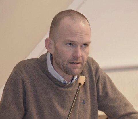 Engasjert: Lars-Erik Vaale (H) holdt et sterkt og engasjert innlegg om situasjonen i Aleppo.