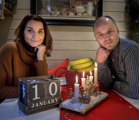 Popklassiker: Nora Jabri og Trond Mæhlum i Gjøvik symfoniorkester, ønsker godt nyttår med konsert i Gjøvikhallen 10. januar. foto: brynjar eidstuen