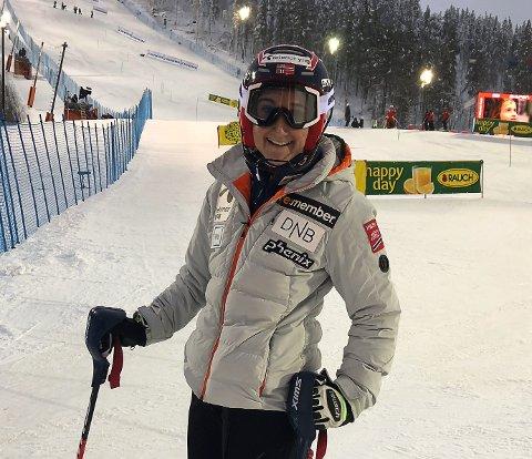 Maren Skjøld hadde all grunn til å smile etter 17. plassen i Levi.