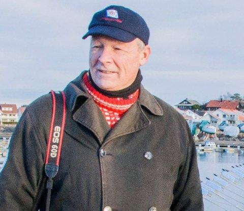 REAGERER: Dag Høibø reagerer på at kulturhuset Bølgen blir brukt til Joshua Frenchs foredrag.