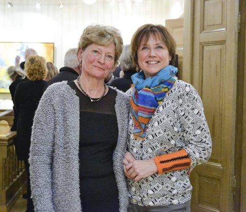 Ellen Gilhuus (t.v.) og Vanja Madsen kunne ikke vært mer fornøyde med åpningsdagen.
