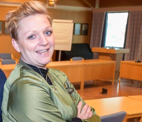 Lisbeth Fremstad Morewood er fornøyd med SVs resultater på landsbasis, men partiet ligger ikke an til å komme inn på Stortinget fra Oppland.