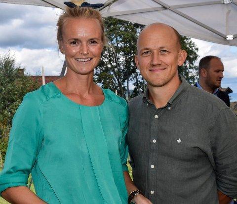 """PÅ TV: Kristoffer Evang og kona Anne Marte Ruud Evang driver Ask gård. Tirsdag ser du dem på """"God morgen Norge""""."""