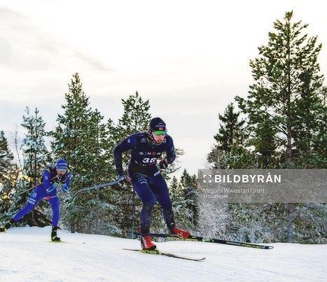 Eivind Kjennerud, 15 km friteknikk, NM på Granåsen