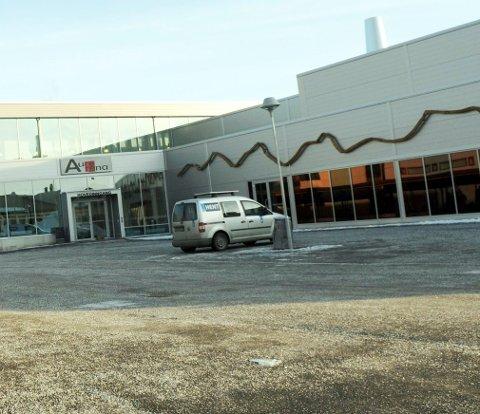 Her i Aure Arena tilbys gratis trim for 700 eldre i Aure.