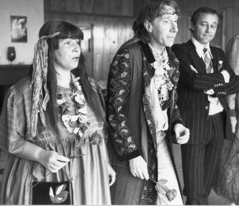 Marit Carlsen, Torfinn Carlsen og Hans Jørgen Sevaldsen i musikalen «En drøm om California», basert på musikken til «The Mamas and Papas» i 1987.