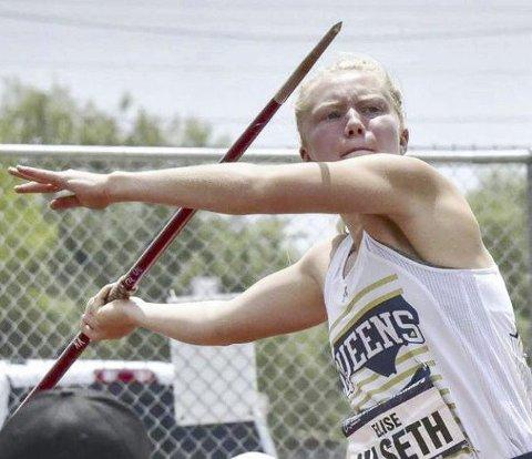 Elise Hoel Ulseth viser god form i USA.