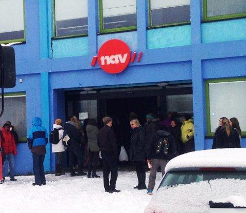 Færre arbeidsledige i Nordland er noe å glede seg over for Nav-ansatte. (Illustrasjonsfoto)