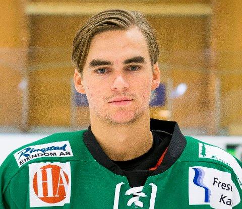 SCORET: Jakob Klang er Comet-spiller, men er på utlån i Sparta. I kveld scoret han sitt første mål i eliteserien (Getligaen).