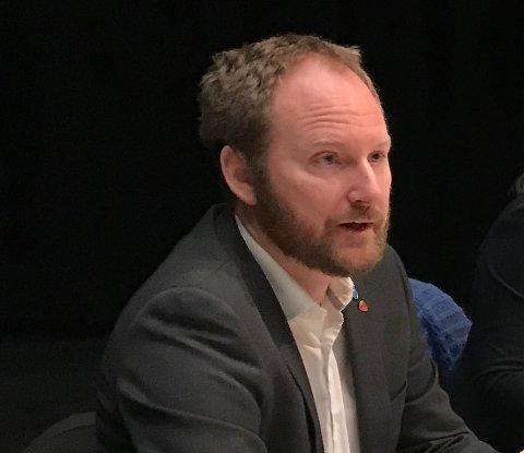 Ordfører I Vestvågøy og leder i Lofotrådet Remi Solberg (Ap)