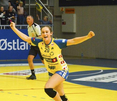 Scoret: Mia Svele scoret ett mål da Storhamar tapte lørdagens toppkamp mot Vipers Kristiansand. Arkivfoto