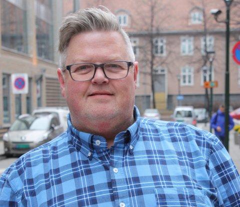 Færre unge drept i trafikken: Daglig leder Stig Eid Sandstad, i Norges eneste trafikksikkerhetsorganisasjon for ungdom, Ung i Trafikken, gleder seg over tallene.
