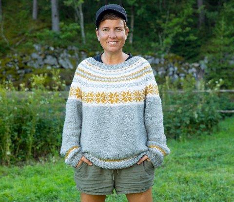 GARNTERFORTRINN: Eunike Hoksrød tror hennes bakgrunn som gartner kan gi henne et fortrinn når deltakerne blir sendt 100 år tilbake i tid og mat blir en mangelvare.