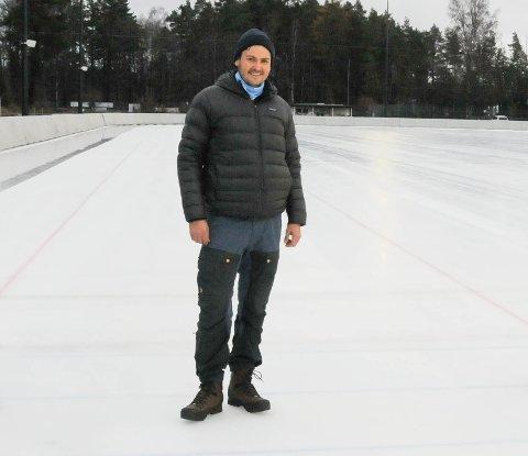 VIL HA INNSPILL: Nå vil Anders Nygaard ha dine innspill til anleggsplanen for idrett og friluftsliv.