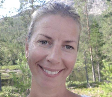 Nytt ansikt: Maren Anne Vestøl (40) skal snart møte opp i Arne Garborgsvei i Tvedestrand og lede SFO-avdelingen. Der får hun ansvar for rundt 50 barn og ni ansatte. Foto: Privat