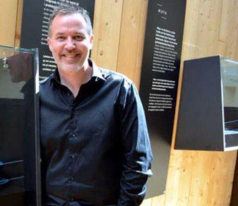 Om eit år: Om eit års tid vil museumsdirektør Ole Aastad Bråten kunna ta i bruk dei nye utstillingslokala på Valdres Folkemuseum.