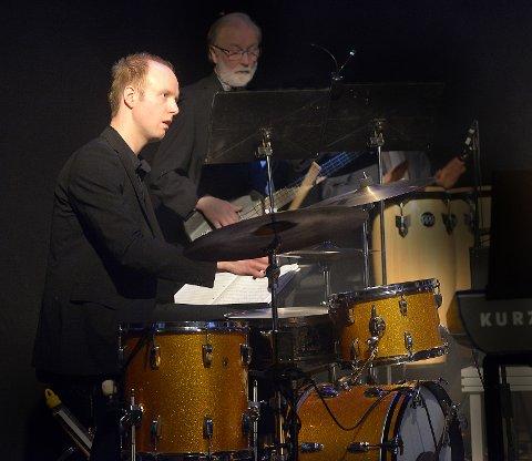 Proff jazztrommis Tollef Østvang.
