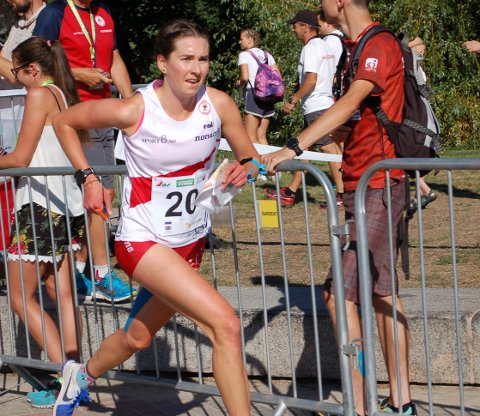 Med store smerter i hoften løp Sigrid Alexandersen inn til en hederlig 18.-plass i lørdagens sprint-VM.