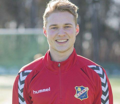LYN: Severin Torp Brørby fra Brandbu gleder seg til seriestart med Lyn. Han har spilt alle treningskampene og trives på spissplassen.