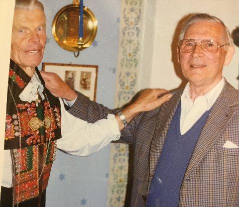 Jon Løyland og Stein Mathisen.