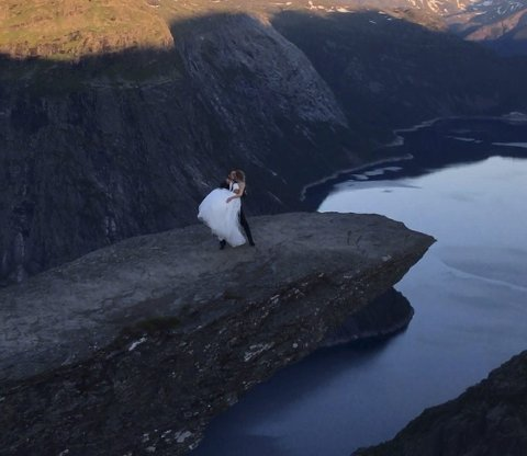 Brudebildet.