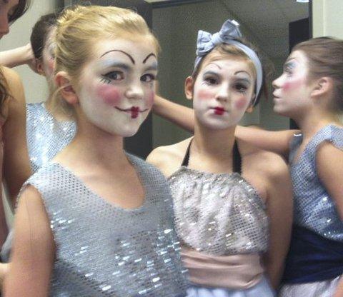 DANS: Danseelever ved kulturskolen.Foto: Privat