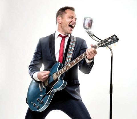 ROCK & ROLL: Heine Totland kommer til Byfesten med en drøss rockeklassikere i bagasjen.