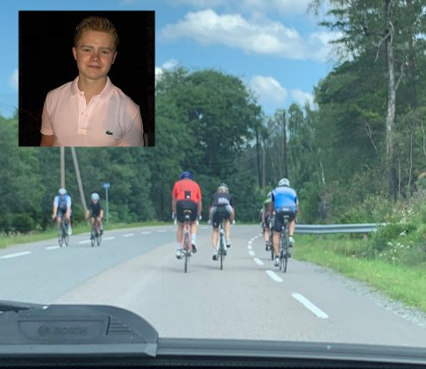 PROVOSERER: Anders Sjøvold Moe skjønner at noen kan la seg provosere av innlegget om Tesla-eiere og 50 åringer på sykkel.