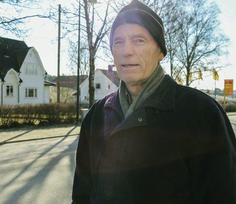 Vil ha bunnfradrag: Hans Jørgen Fagereng mener kommunen bør vurdere et bunnfradrag på eiendomsskatten i Rakkestad. Foto: Joachim Constantin Høyer