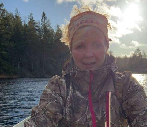 Friluftsliv: Sist helg tok Gro Sørlie årene fatt og delte bildet med RAs lesere.